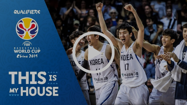 JunBeom Jeon (22pts. 3ast.) starts the FIBA World Cup 2019 Asian Qualifiers off in style!