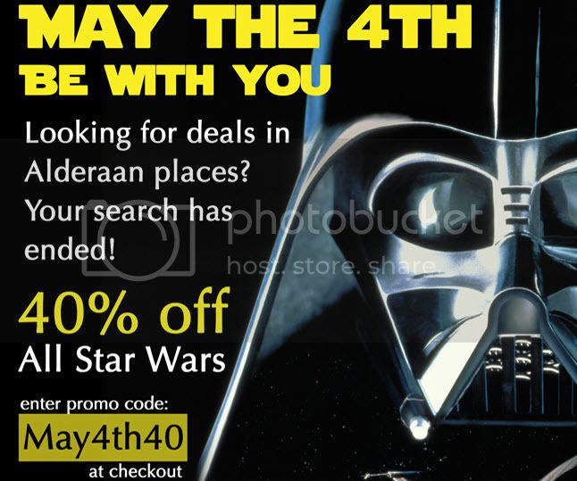 40% off Star Wars Cufflinks!
