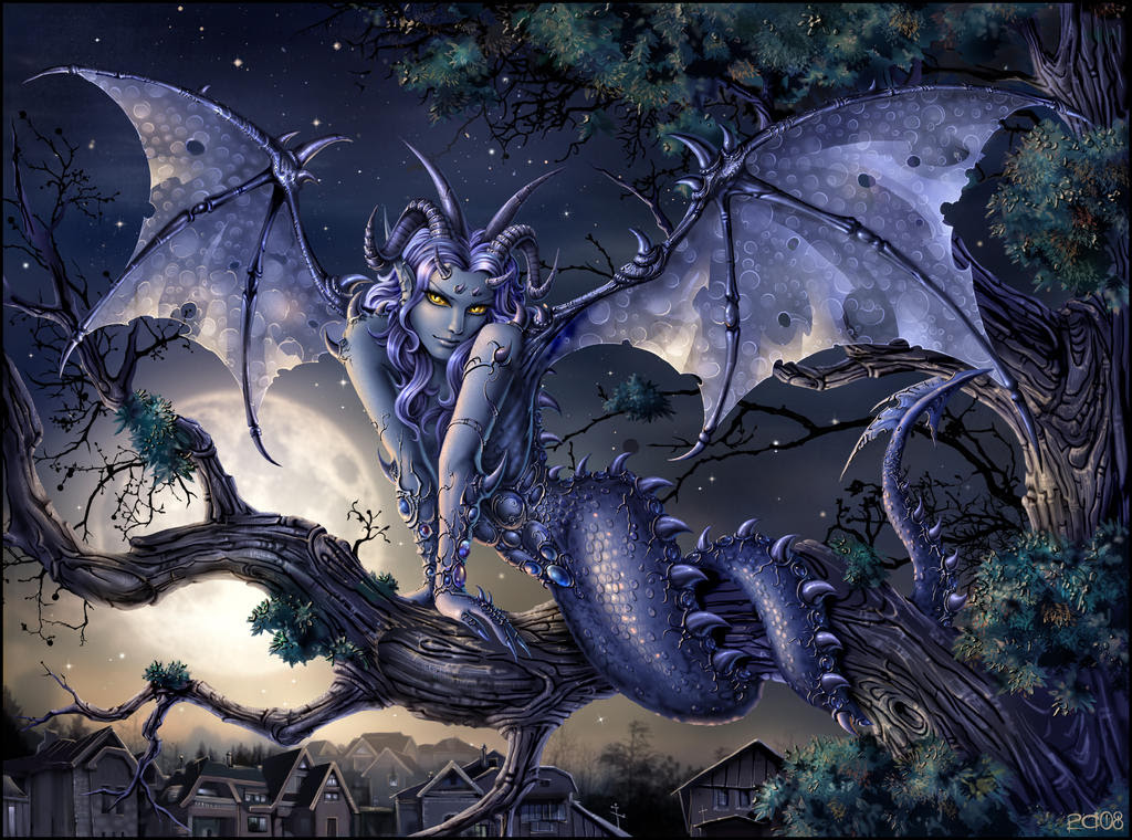 Love from the Dragon Cave .... pictures of our home ... and friends Moondragon_by_Candra