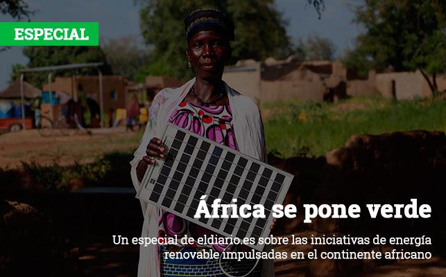 África se pone verde