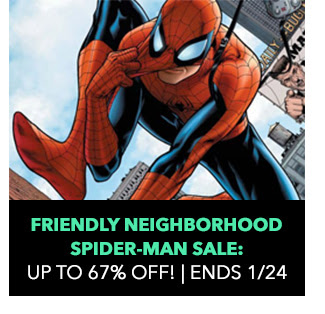 Friendly Neighborhood Spider-Man Sale: up to 67% off! Sale ends 1/24.