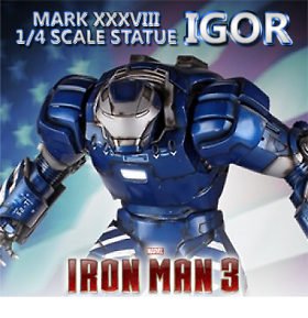 IRON MAN MARK XXXVIII IGORE 1/4 SCALE STATUE