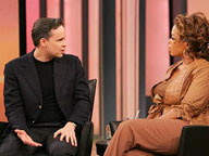 Robert Holden talking to Oprah Winfrey