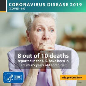 8 of 10 deaths are in adults 65+
