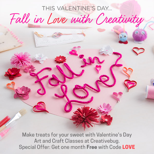 Fall in Love with Creativity a...