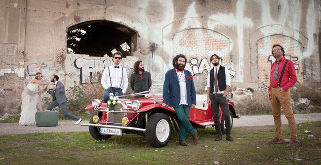 La Canalla presenta nuevo disco. Foto Oscar Pantalones