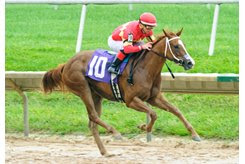 Our Tiny Dancer becomes Union Jackson's first winner Sept. 9 at Delaware Park