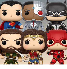 JUSTICE LEAGUE POP! FIGURES