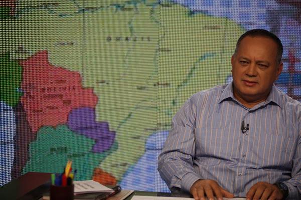 """Diosdado Cabello en el programa """"Con el mazo dando"""" por VTV"""