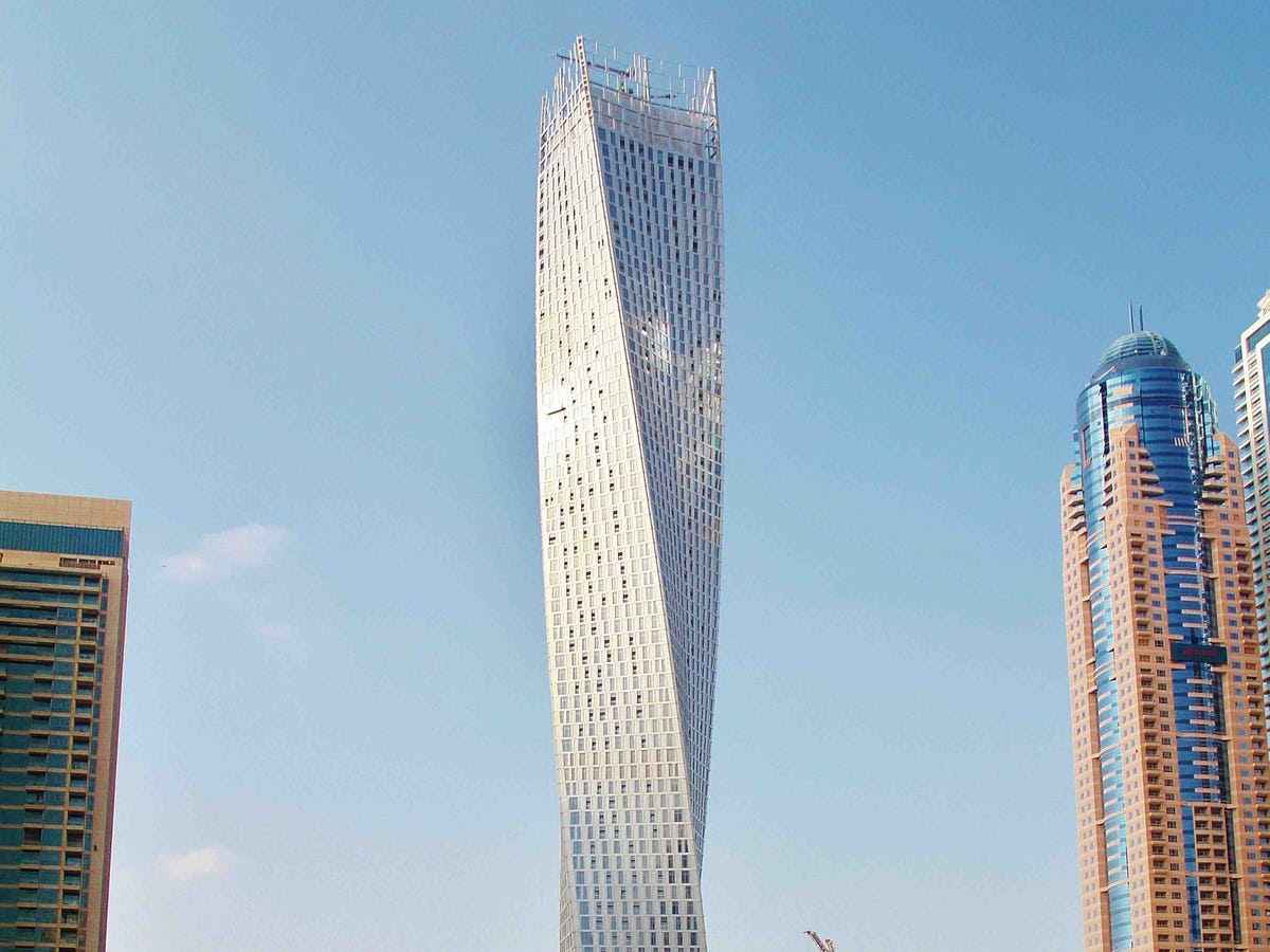 Cayan Tower (Nominated for Best Residential Development)