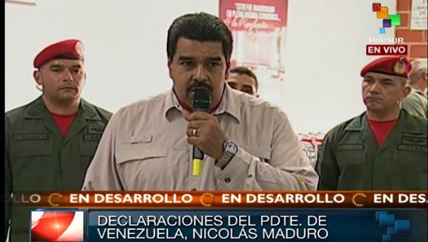 El presidente de la República, Nicolás Maduro
