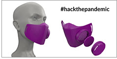 3D-printed N95 mask