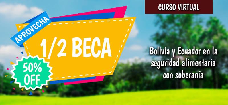 Curso virtual: Bolivia y Ecuador en la Seguridad alimentaria con soberanía