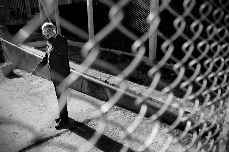 Ruben Villaverde, durante la inauguración de la primera parte de la obra del Centro de Ingreso, Estudio Diagnóstico y Derivación del Sistema de Responsabilidad Penal Adolescente. / Foto: Nicolás Celaya (archivo, abril de 2014)