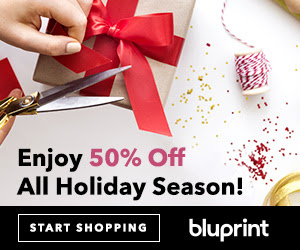 Sign Up For Bluprint Now & Get 50% Off All Craftsy Purchases Through December (11/3-11/14)