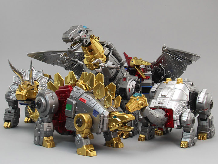 TOYWORLD DINO COMBINER (METALLIC)