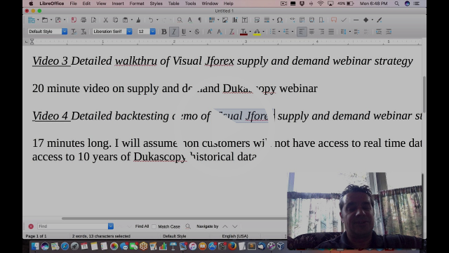 NEW Course on Dukascopy Visual JForex  for NON programmers for algo forex trading