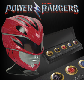 POWER RANGERS LEGACY REPLICAS
