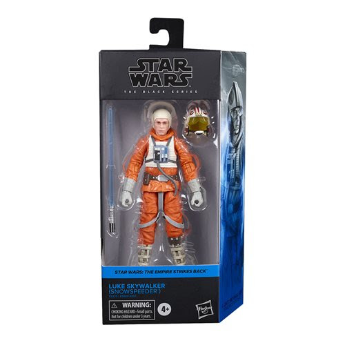 Image of Star Wars The Black Series Wave 5 (2020) Luke Skywalker (Snowspeeder) 6-Inch Action Figure
