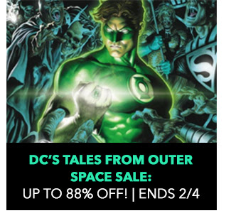 DC's Tales from Outer Space Sale: up to 88% off! Sale ends 2/4.