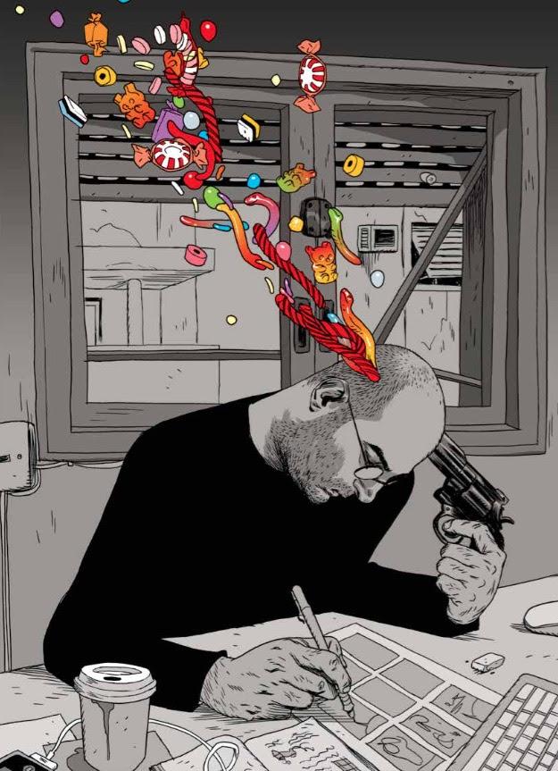 """Cronache di vita israeliana a fumetti in """"KO a Tel Aviv"""" di Asaf Hanuka"""