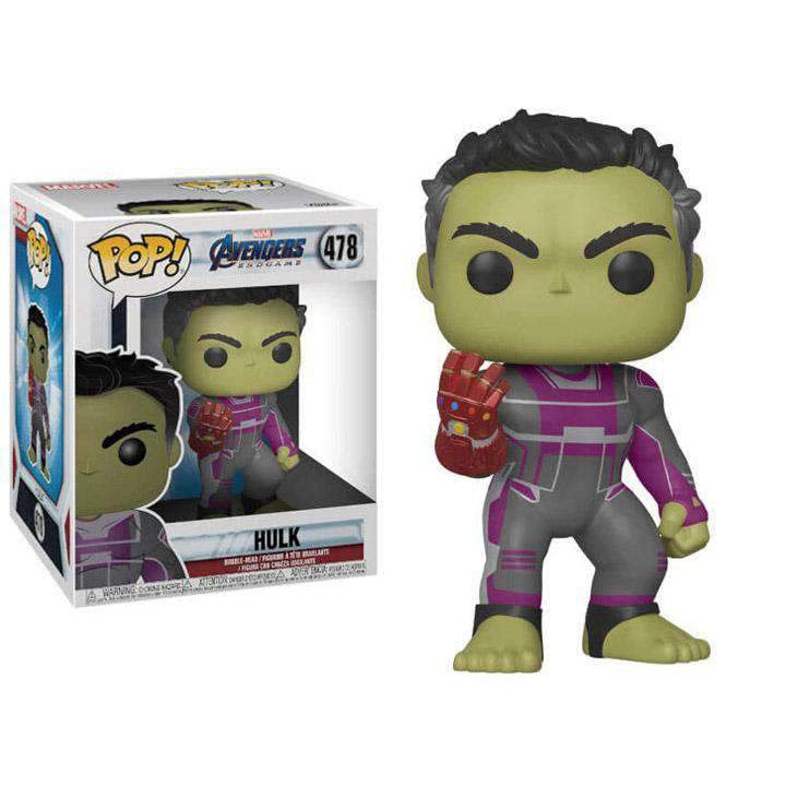 "Image of Pop! Marvel: Avengers: Endgame - 6"" Super Sized Hulk - JUNE 2019"