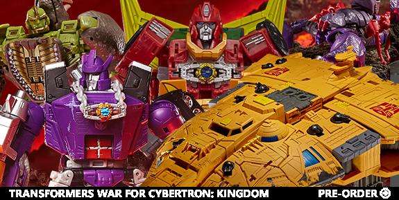 Transformers War for Cybertron: Kingdom