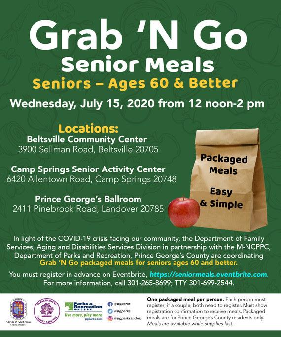 Grab & Go Senior Meals