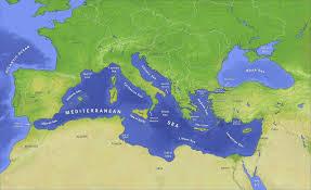Image result for Địa Trung Hải 地中海