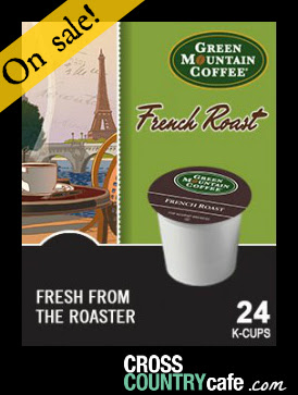 Green Mountain French Roast Keurig K-cup Coffee