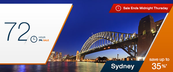 Save Up to 35% OFF Sydney Hotels Just For 72Hr Sale On Now at  Expedia.com.au