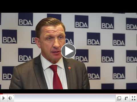 Paul Scope, Chair of the BDA and Willis Bermuda