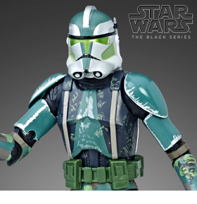 Star Wars: The Black Series Clone Commander Gree (The Clone Wars)