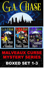 Malveaux Curse Mystery Series Boxed Set: Books 1–3
