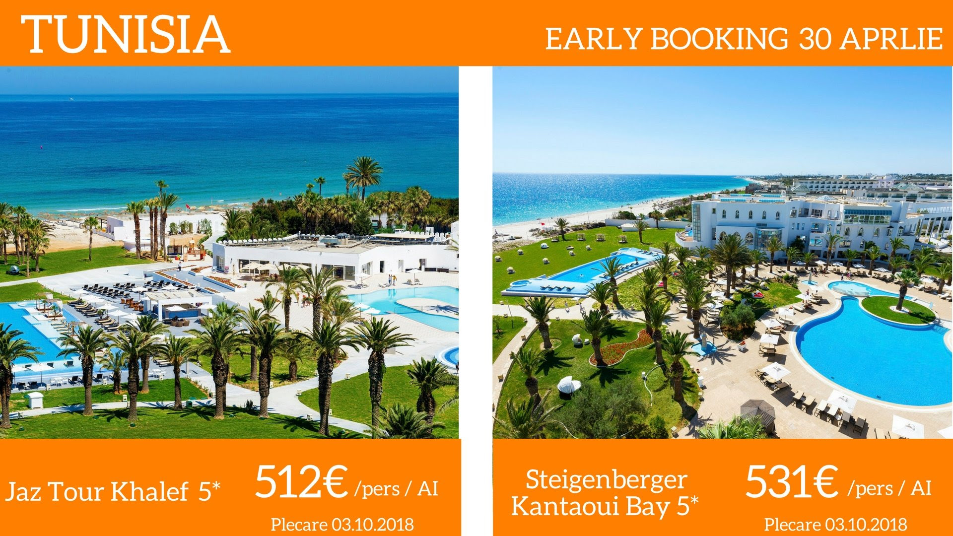 TUNISIA early booking