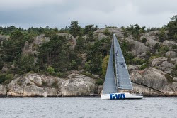 J/111 Blur sailing Bohusracet off Sweden