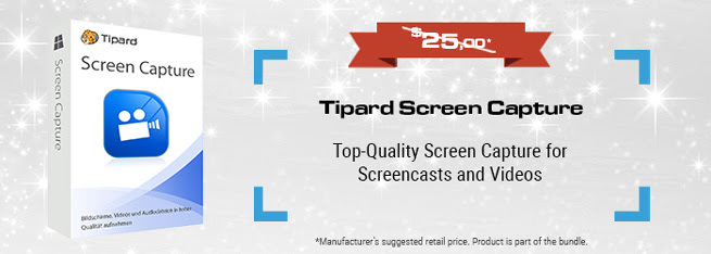 Software Giveaway: Tipard Screen Capture Full Version