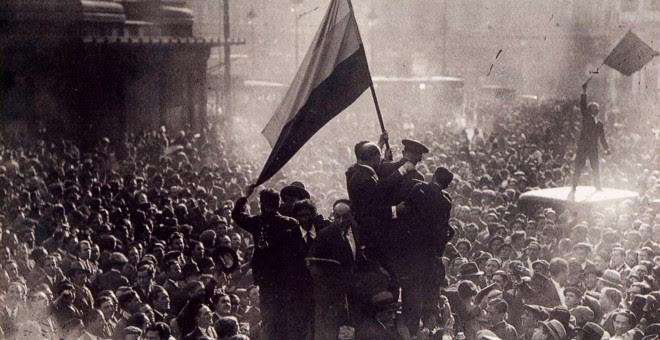 Proclamación de la Segunda República.