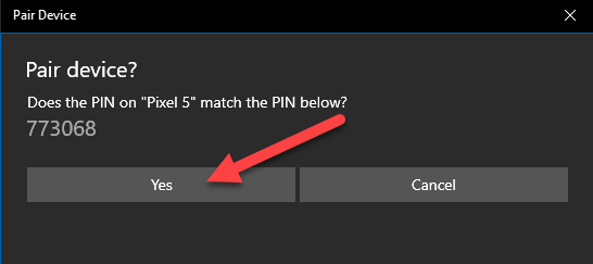 bluetooth code on PC