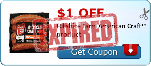 $1.00 off Hillshire Farm American Craft™ product