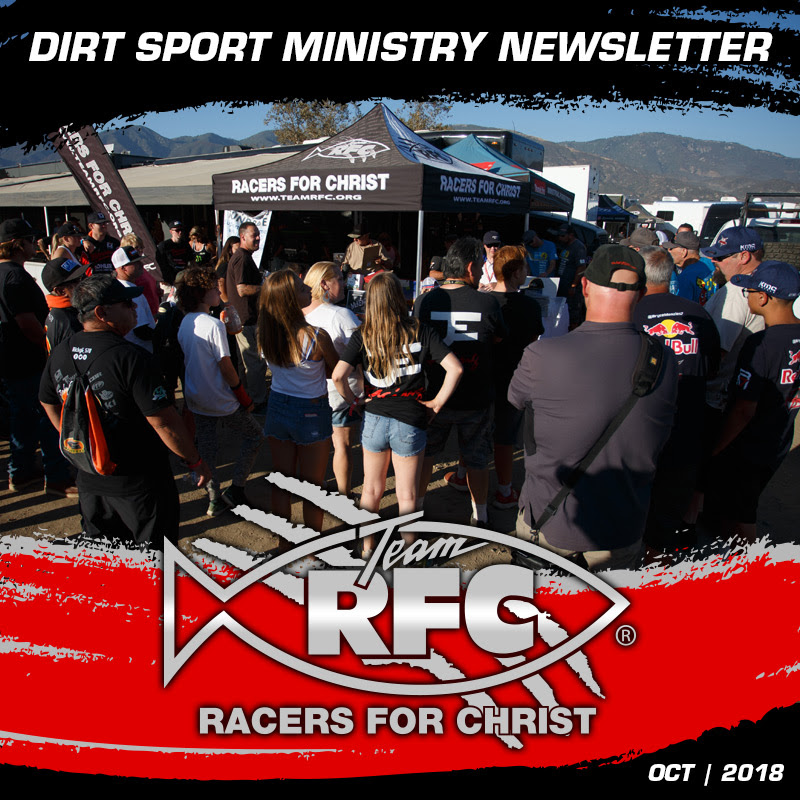 Dirt Sport Ministry Newsletter - October | 2018