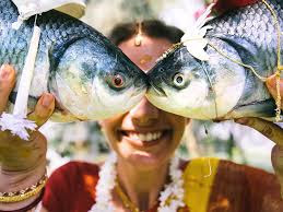 Image result for a woman and two fishes images