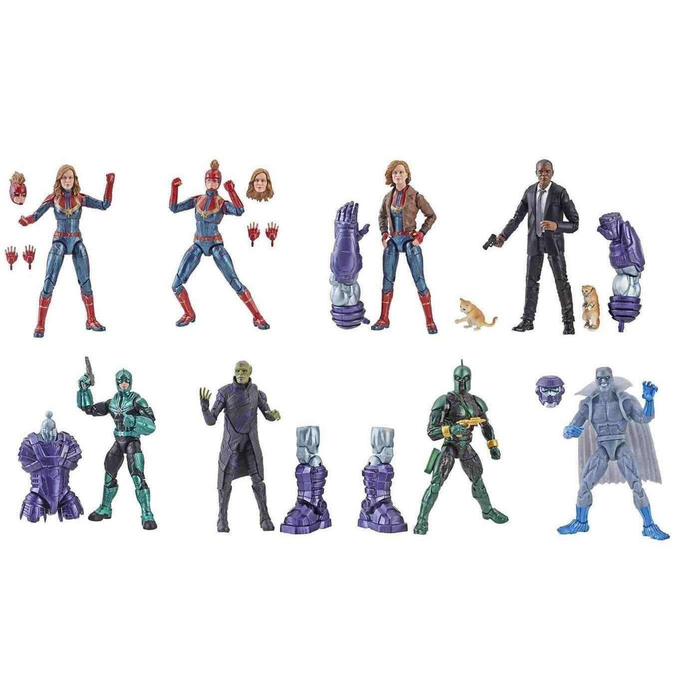 Image of Captain Marvel (Kree Sentry BAF) Marvel Legends Wave 1 - Case of 8