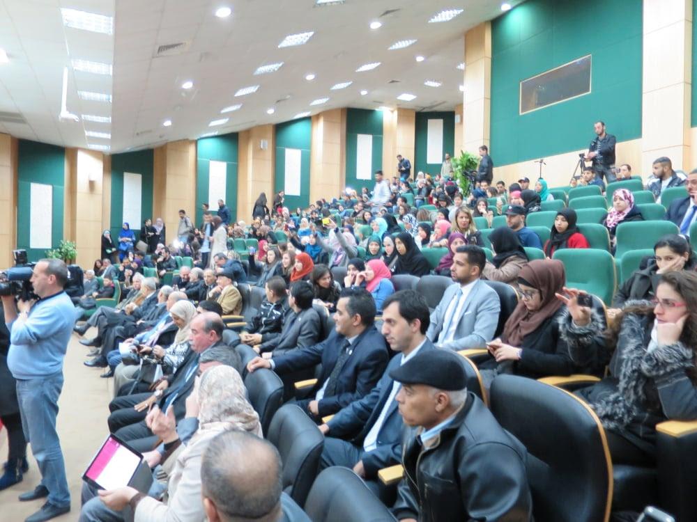 Asistentes al cine-foro en la Universidad de Argel en homenaje al segundo aniversario de la desaparición del   Comandante Eterno Hugo Chávez