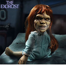 THE EXORCIST MEGA SCALE REGAN WITH SOUND