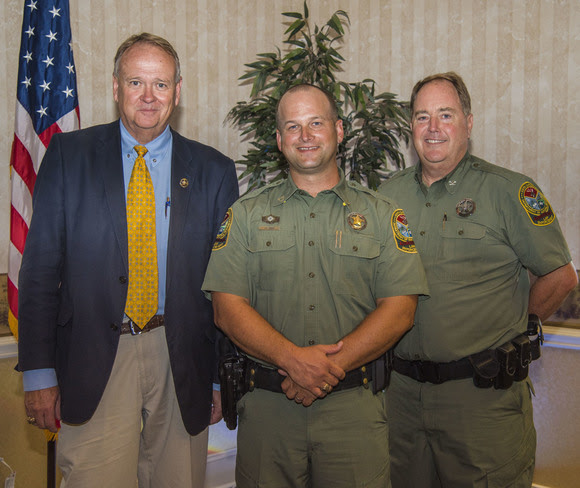 SCDNR 2018 Officer of the Year Award