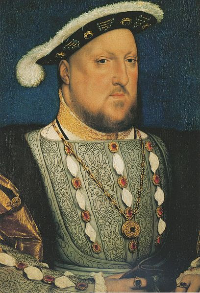 File:Henry VIII of England, by Hans Holbein  the Younger.jpg
