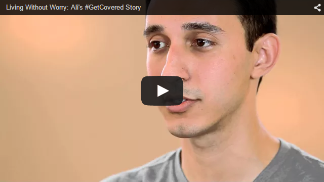 YouTube Embedded Video: Living Without Worry: Ali's #GetCovered Story