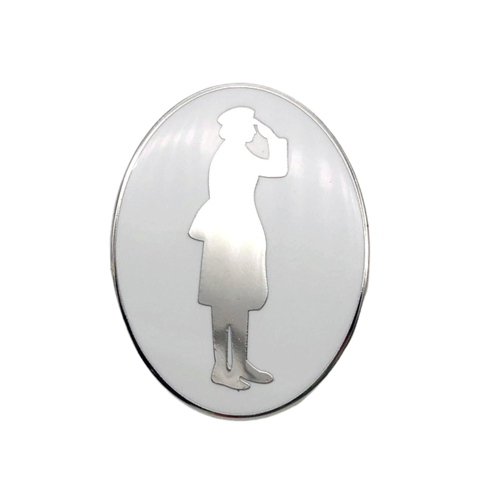 Women in War Special Edition Enamel Lapel Pin (Two Pack)