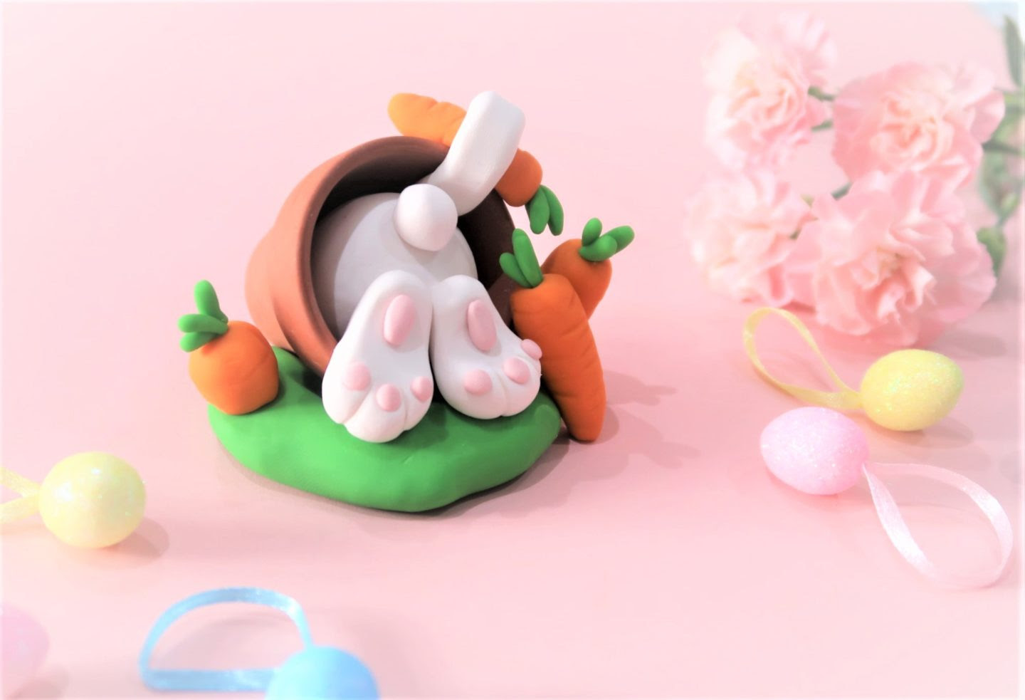 finders keepers easter bunny fimo!